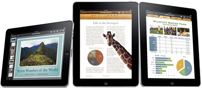 iPad and iPhone Mobile App. Design